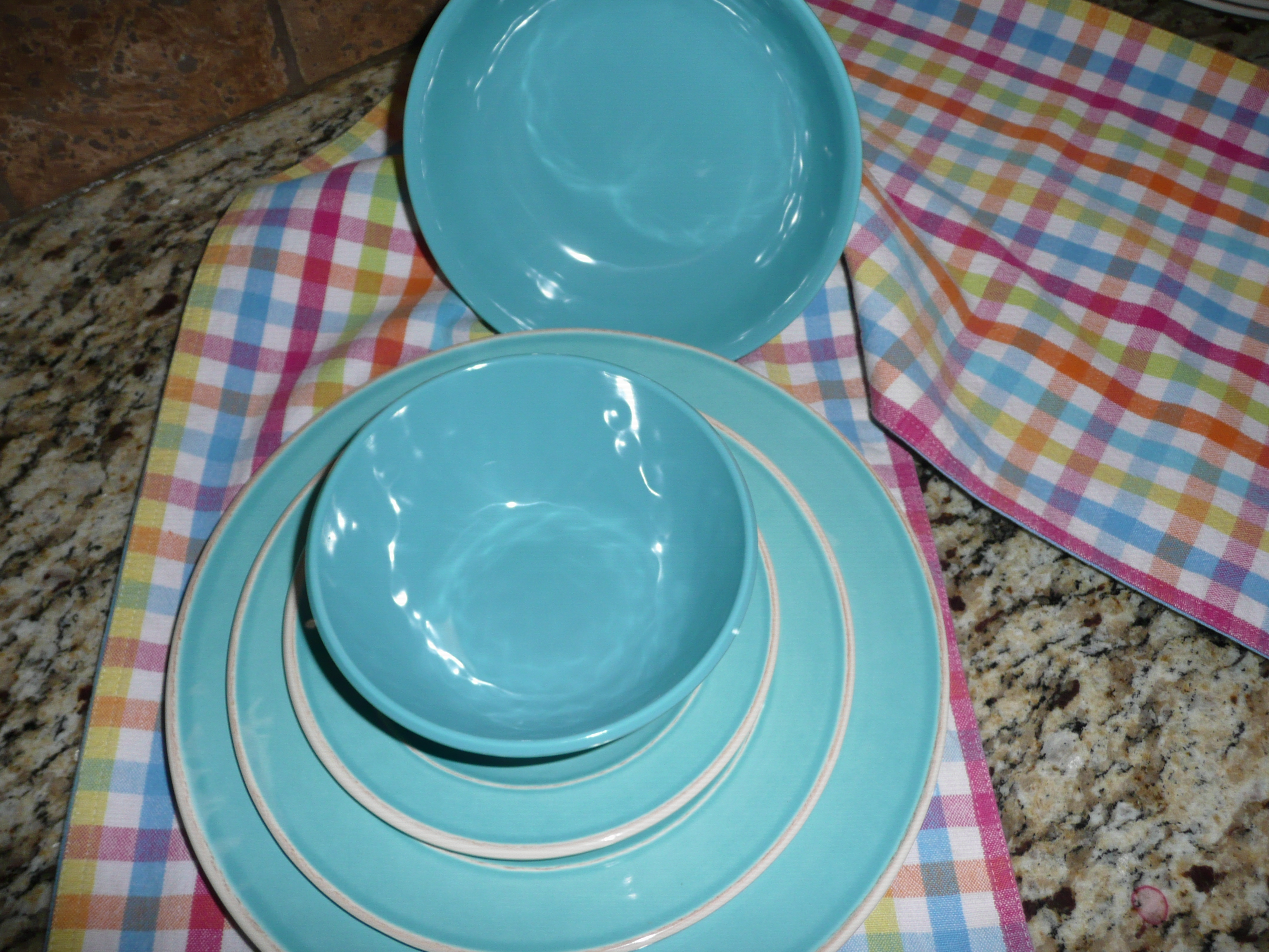 turquoise | beyond cinderella & Melamine Dinnerware Sets Costco \u2013 Home Accesories